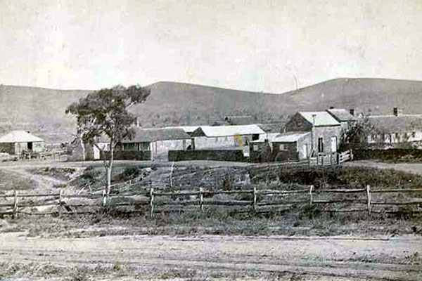 Coonatto Station in 1860