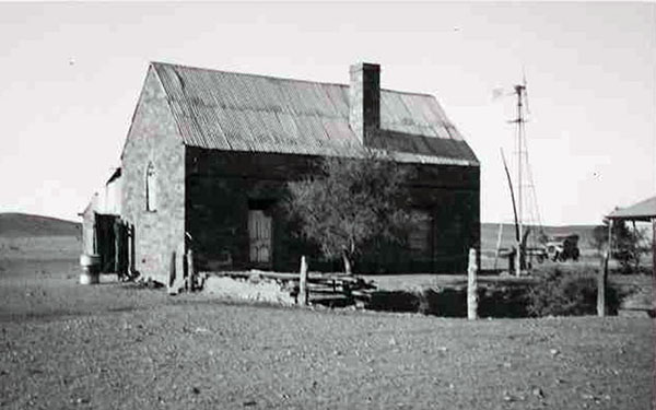 Coonatto Station church in 1948